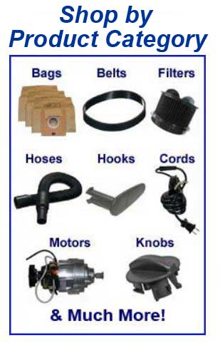 Shop Bissell parts, belts, bags, filters and accessories by product category!