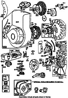 Tennant 140 Sweeper MM130 Engine Break Down Part 3 Parts