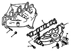 Tennant 355 Sweeper MM300 Manifold Group Parts