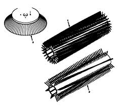 Tennant 355 Sweeper MM300 Replacement Brushes PartsTennant 355 Sweeper MM300 Replacement Brushes Parts