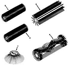 Tennant 3640 Sweeper (Electric) 330560 Replacement Brushes PartsTennant 3640 Sweeper (Electric) 330560 Replacement Brushes Parts