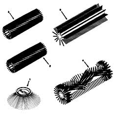 Tennant 3640 Sweeper (Gas) 330580 Replacement Brushes PartsTennant 3640 Sweeper (Gas) 330580 Replacement Brushes Parts