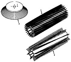 Tennant 385 Sweeper MM304 Replacement Brushes PartsTennant 385 Sweeper MM304 Replacement Brushes Parts