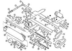 Castex Concorde (Version1 Oldest) Brush Housing Assembly Diagram D Parts