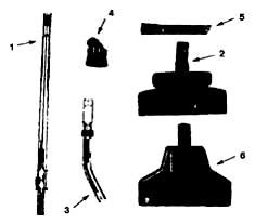 Castex Portapac 1 & 2 (BP1402 / BP1502) Attachment Tool Kit (Optional) Parts