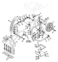 Castex SCX-900 - 607434 Main Frame & Plumbing Group PartsCastex SCX-900 - 607434 Main Frame & Plumbing Group Parts