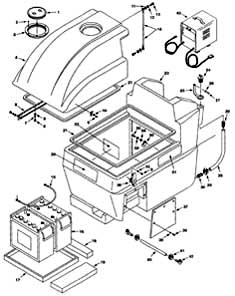 Castex Sentry (605247) Main Housing Group Parts