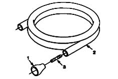 Nobles Quick Clean 1500 609759 Standard Parts - Solution Tank Fill Hose