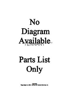 Tennant 550 G/LP and D Rider Scrubber S/N 003370-006114-MM148 Carburetor Group Parts