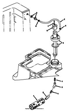 Tennant 7400 (FORD) Rider Scrubber (000000-006999) MM425 ES (TM) Pump Column Group (Serial Number 000000-004203) PartsTennant 7400 (FORD) Rider Scrubber (000000-006999) MM425 ES (TM) Pump Column Group (Serial Number 000000-004203) Parts