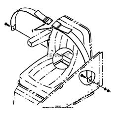 Tennant 7400 (FORD) Rider Scrubber (000000-006999) MM425 Seat Belt Kit PartsTennant 7400 (FORD) Rider Scrubber (000000-006999) MM425 Seat Belt Kit Parts