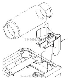 Tennant 8400 Sweeper/Scrubber MM311 LPG Tank Mount Kit, 43 lb PartsTennant 8400 Sweeper/Scrubber MM311 LPG Tank Mount Kit, 43 lb Parts