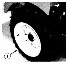 Tennant ATLV 4300 Litter Vac Rear Traction Tire Kit PartsTennant ATLV 4300 Litter Vac Rear Traction Tire Kit Parts