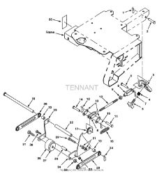 Tennant Drynamic 170 Electric (170ER) Transport System PartsTennant Drynamic 170 Electric (170ER) Transport System Parts
