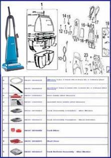Panasonic Parts By Machine Diagram